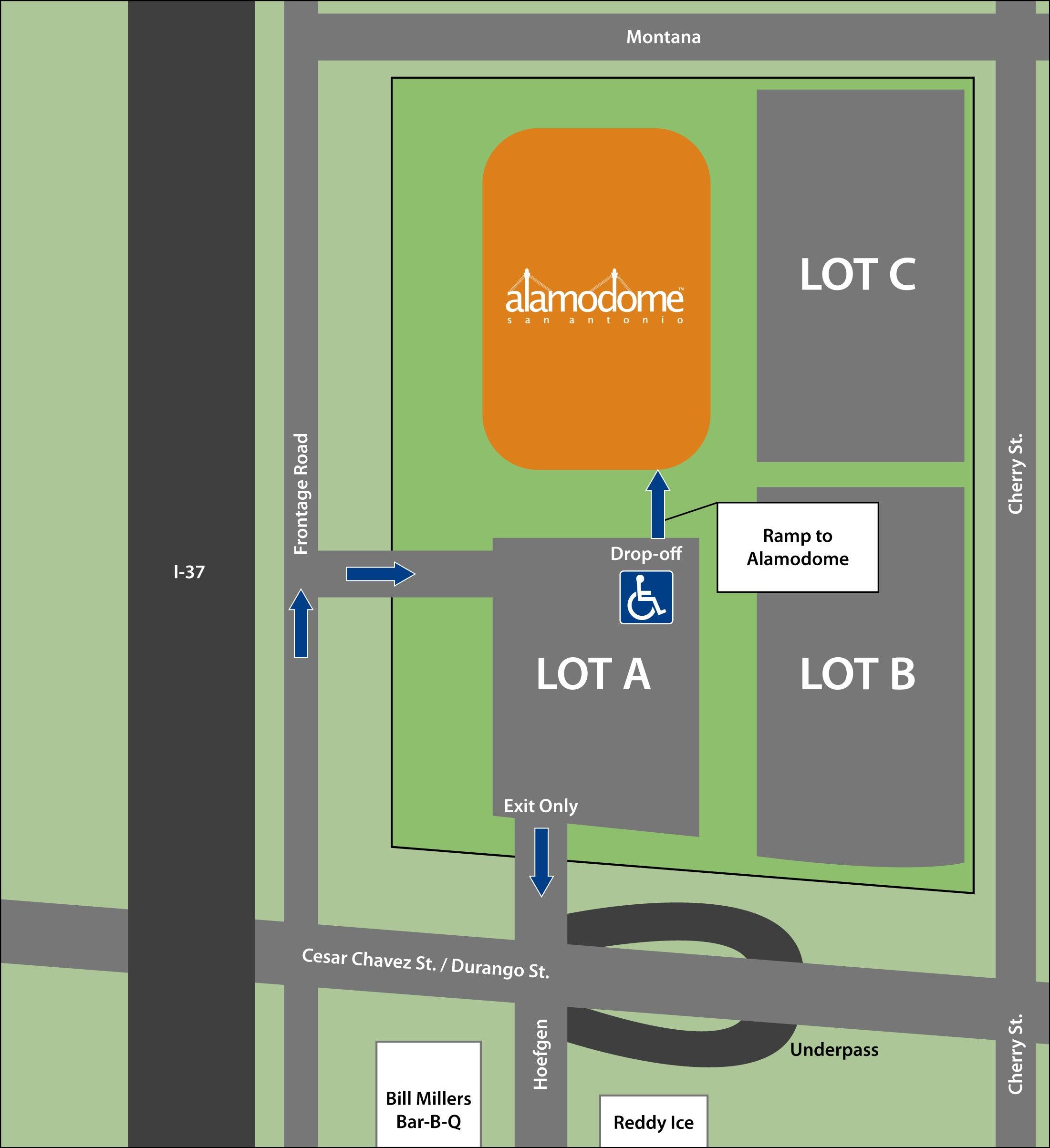 ADA Parking Map