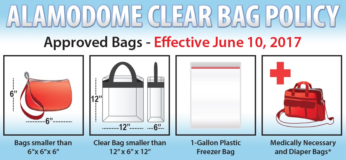 Alamodome To Implement Clear Bag Policy For All Events