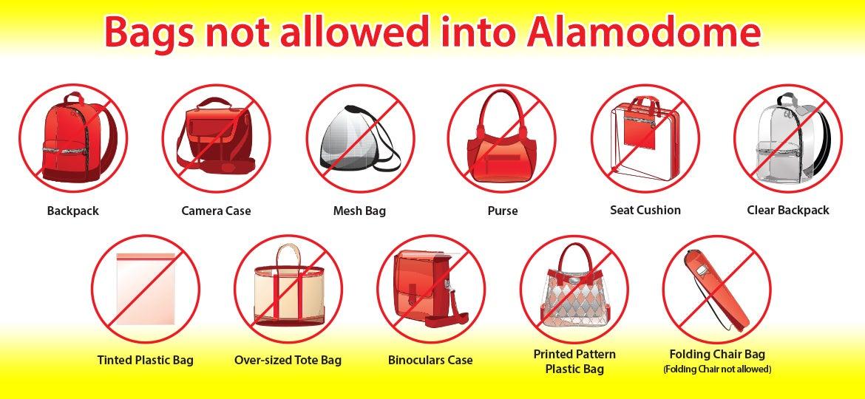 Clear Bag Policy Alamodome